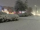 Rare snow hits southern U.S.
