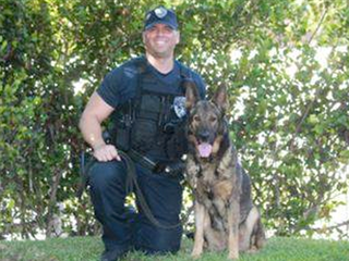 North Palm Beach police mourn death of K9