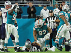 Brady throws 2 INTs as Dolphins beat Pats 27-20