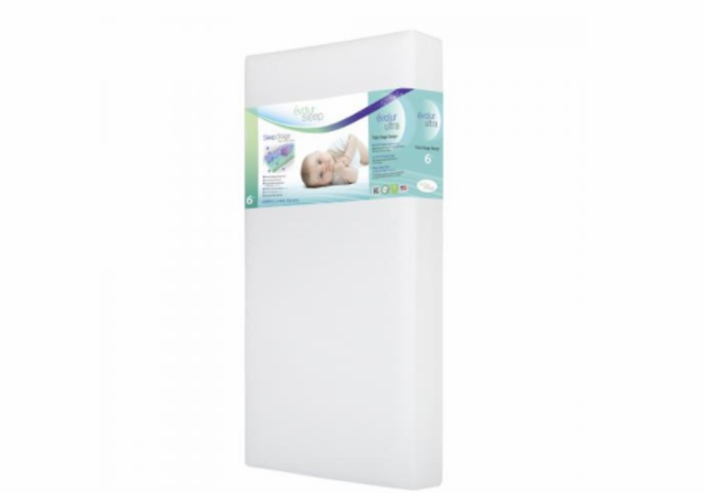 crib toddler product foam premium en bed ca graco mattresses mattress