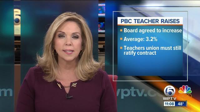 Palm Beach County teachers to get raises