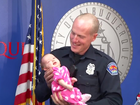 Officer adopts heroin-addicted baby