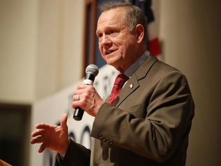 Roy Moore not conceding Alabama Senate race