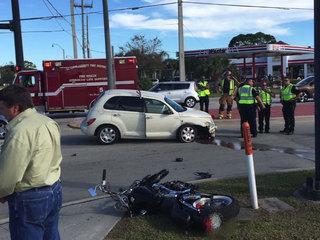 PSL High School senior saves motorcyclist's life