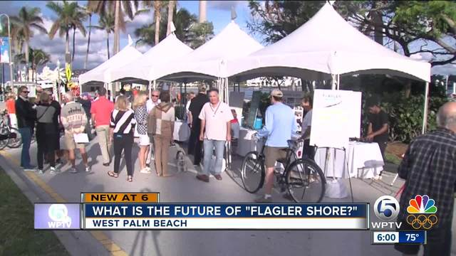 What is the future of Flagler Drive in downtown West Palm Beach-