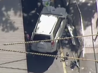 SUV rams into crowd in central Melbourne