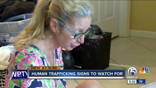 Human trafficking: signs to look for
