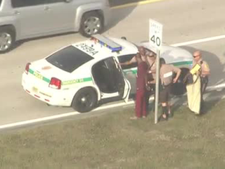 Man jumps fence at Miami airport