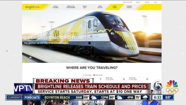 Woman struck by Brightline train identified