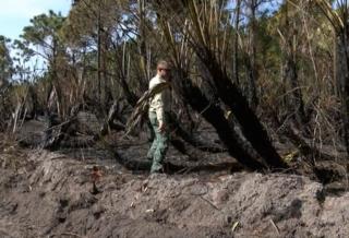 Hurricane debris a concern during dry season