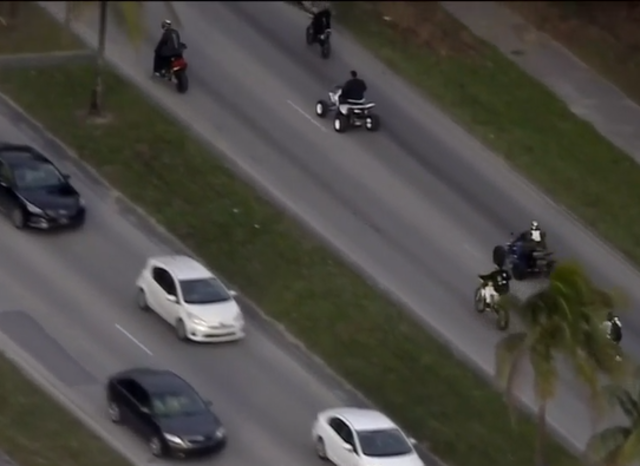 Police arrest ATV, dirt bike riders as MLK holiday rideout begins