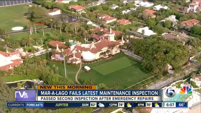 Trump's Mar-a-Lago Resort Cited for Poor Maintenance