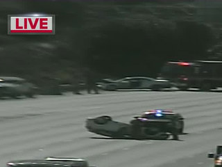 All lanes re-open after rollover crash I-95 NB
