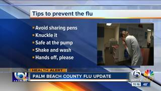 Florida Department of Health gives update on flu