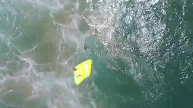 Teen swimmers rescued with help of drone in Australia