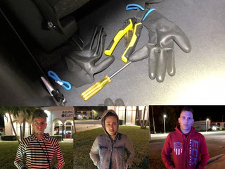 Cops: 3 arrested with burglary tools in Martin