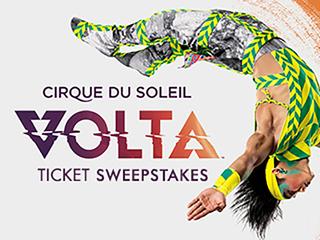 Win tickets to Cirque Du Soleil Volta Jan. 24