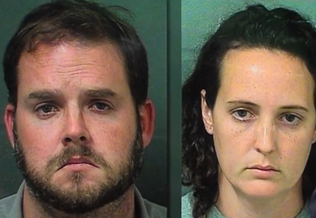 Palm Springs couple accused of using dog crate and handcuffs to punish son