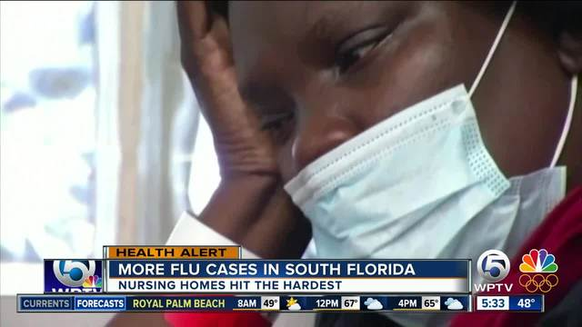 Almost all South Florida counties showing increase in flu cases