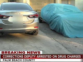 Cops: PBSO corrections deputy faces drug charges