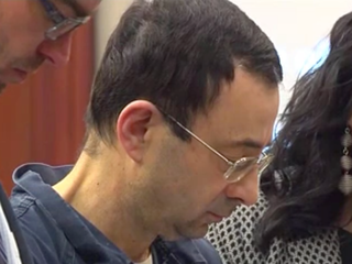 Gymnast abused by doctor calls him 'sick'