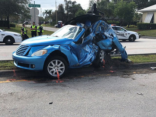 Driver killed in Port St. Lucie crash Saturday