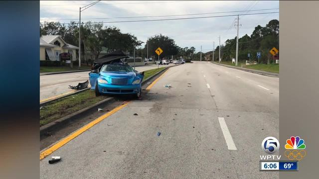 Driver killed in Port St- Lucie crash Saturday morning