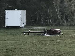 Pilot injured in experimental helicopter crash