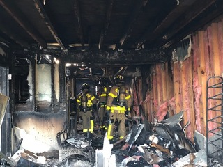 Several displaced by Lake Worth apartment fire