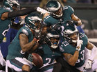 Eagles fly into Super Bowl, rout Vikings