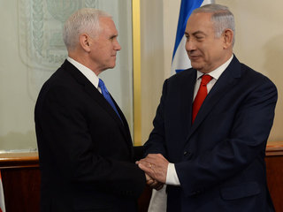 Pence: US embassy in Jerusalem to open next year