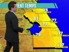 Mix of sun & clouds with highs in the upper 70s