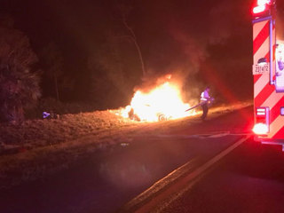 I-95 northbound crash kills person in Fellsmere
