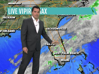 Warm, humid and higher chances for rainfall