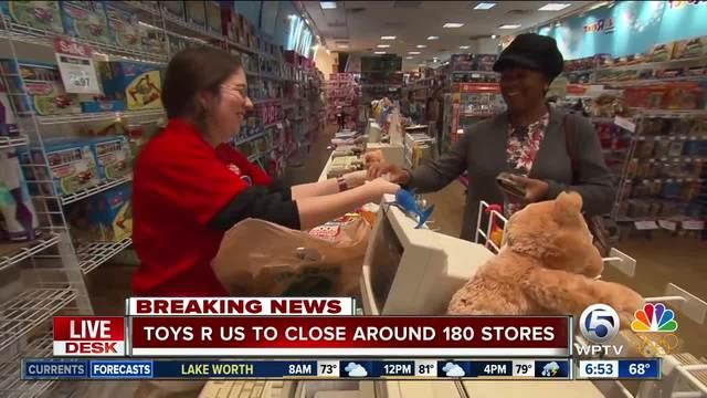 Toys 'R' Us to close more than 180 U.S. stores, including three in ...