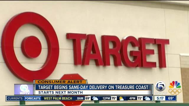 Target launching same-day delivery in Florida