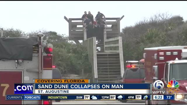Irving Man in Critical Condition After Sand Dune Collapse in Florida