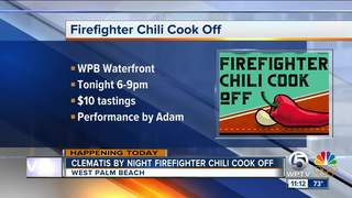 'Clematis by Night' Firefighter Chili Cook Off