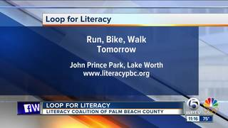 Loop for Literacy at John Prince Park on Feb. 3