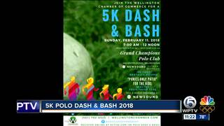 5K Polo Dash and Bash in Wellington on Sunday
