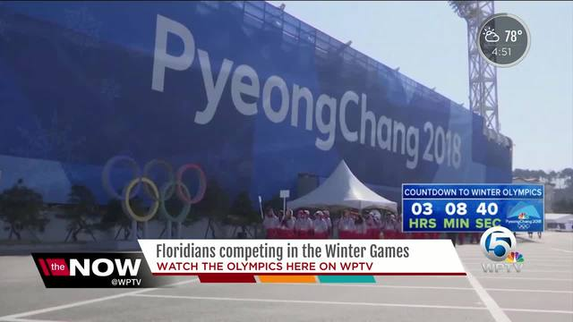 Floridians to compete in the Winter Olympics