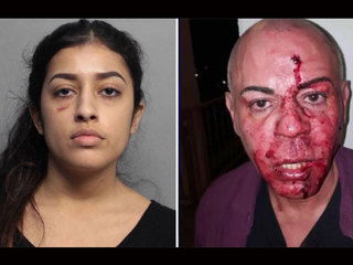 Woman accused of attacking fellow Lyft passenger