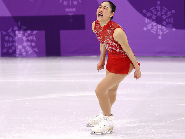 Mirai Nagasu once worked as an National Hockey League ice girl