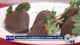 Prepare Valentine's Day dinner at home