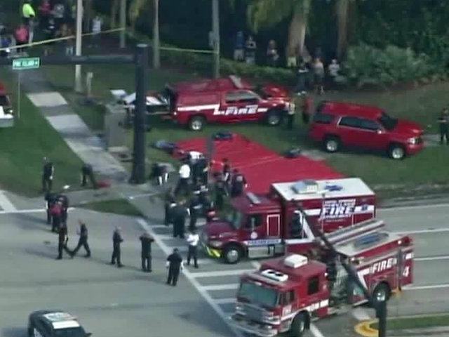Alleged gunman threatened to 'shoot up' Florida school a year ago, classmate claims