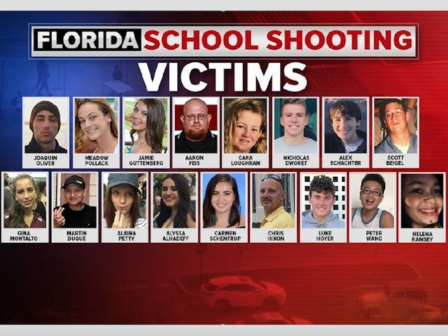 These are the victims killed at the Parkland school ...