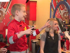 Boy donates hair to benefit children with cancer