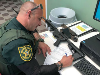 South Florida gun owner turns in AR-57
