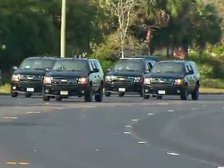 Trump motorcade driver found with firearm in bag