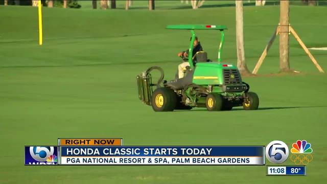 Alex Noren, Webb Simpson weather wind, share Honda Classic lead